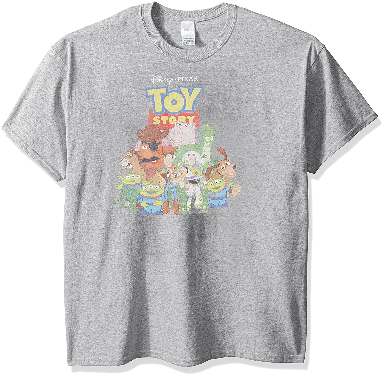 Clothing & Accessories Disney Mens Toy Story T-Shirt Freeze Print on