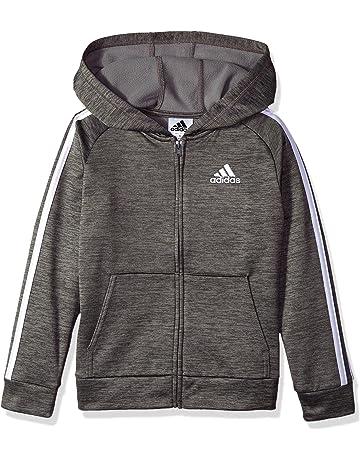 8cdac02df87f adidas Boys  Zip Up Hoodie