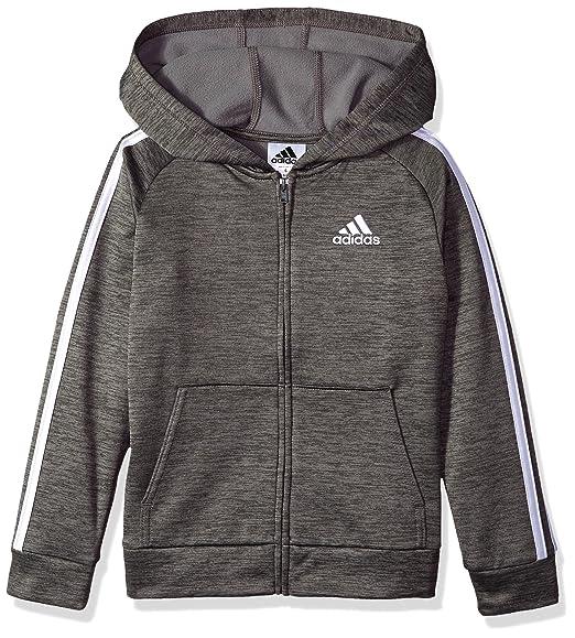 Amazoncom Adidas Boys Zip Up Hoodie Clothing