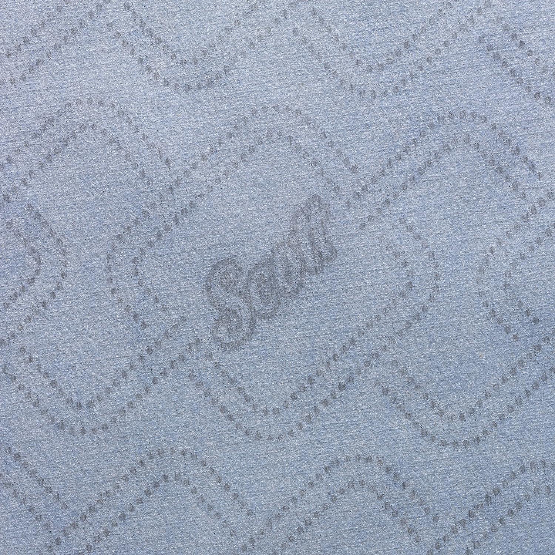 Scott 06692020 Toallas Secamanos en Rollo, 6 Rollos X 350m con 1 Capa, Azul: Amazon.es: Industria, empresas y ciencia