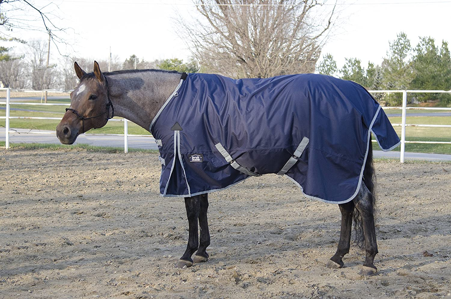 Barn & Stable Horse Blanket Turnout Blanket 600D, 210D Lining and 200grm Fill
