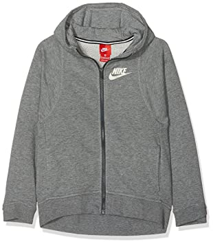 cd402e36e3 Nike g NSW Mdrn Hoodie FZ Sweat, Filles: Amazon.fr: Sports et Loisirs