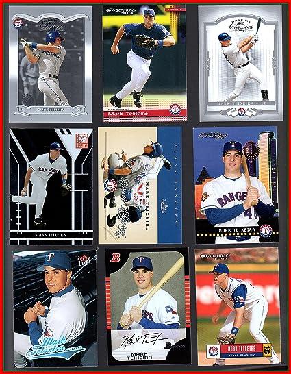 Amazoncom Mark Teixeira 18 Baseball Card Collection Lot No Dupes