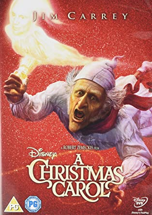 Christmas Carol Jim Carrey.A Christmas Carol Dvd Amazon Co Uk Jim Carrey Steve