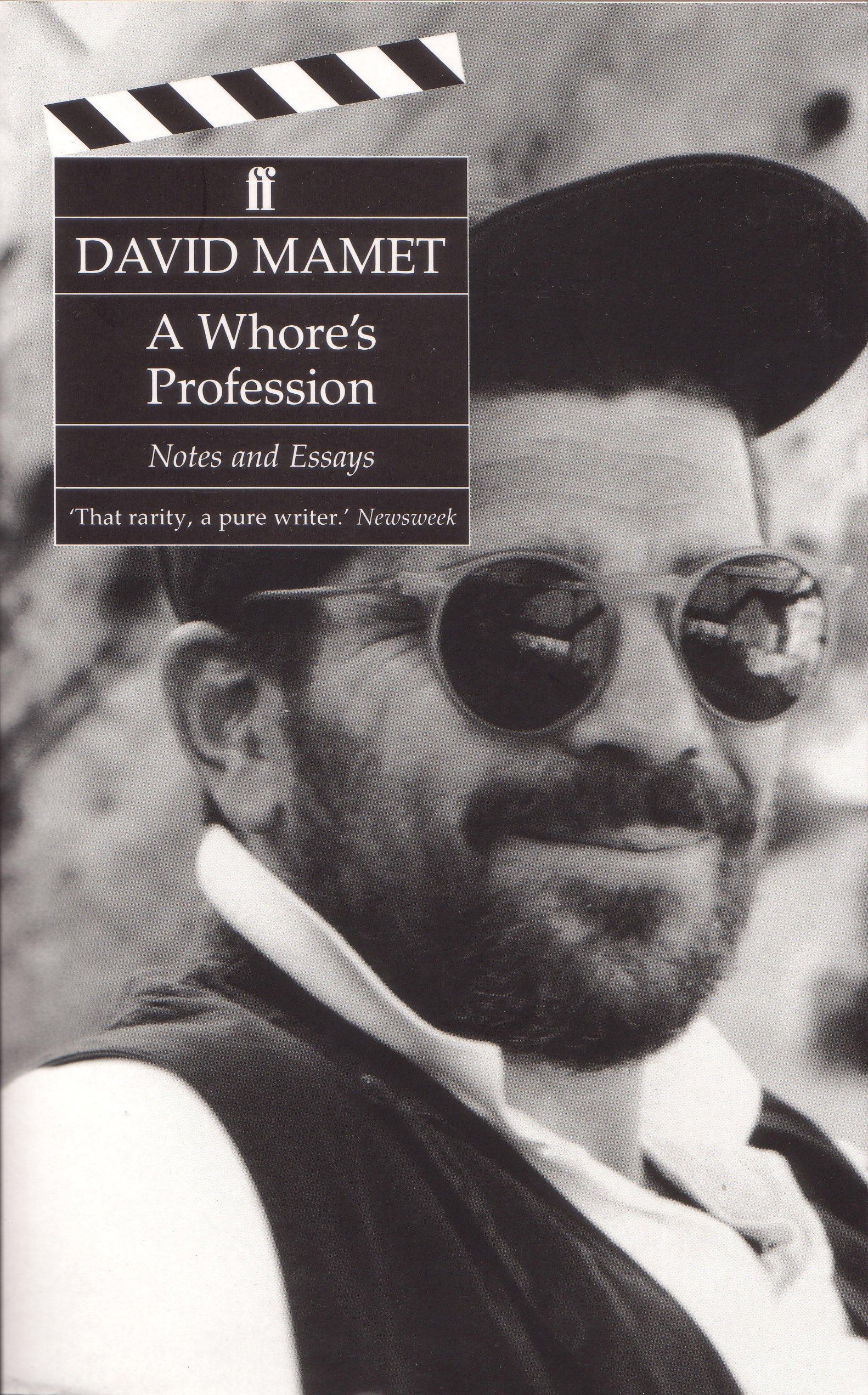 essay note profession whore
