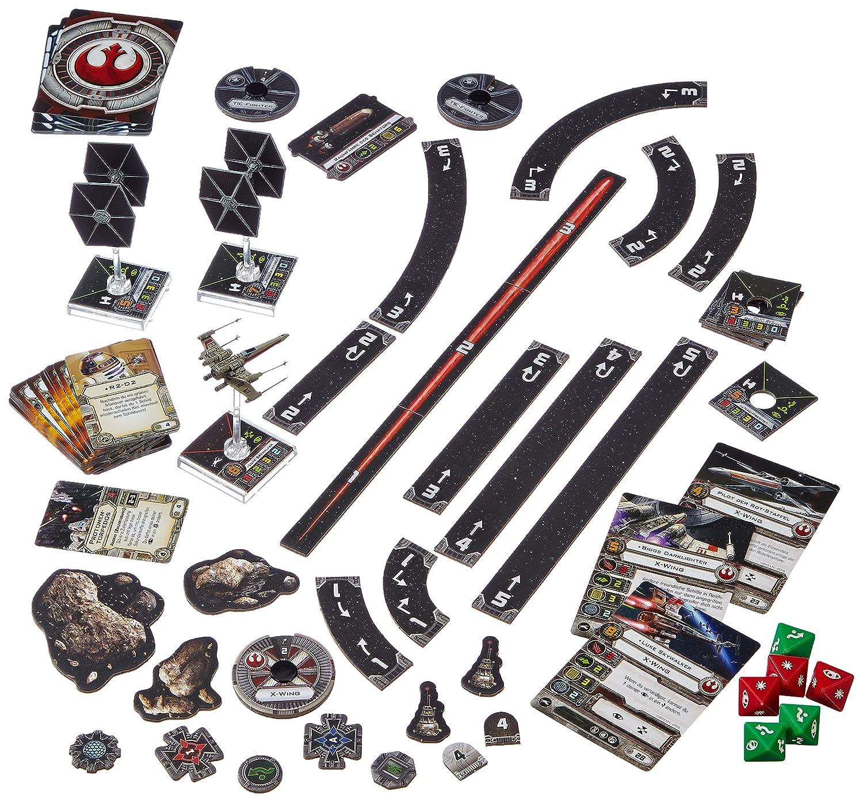 Importado de Alemania Juego de Mesa de La Guerra de Las Galaxias Heidelberger Spieleverlag HEI0400