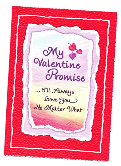 Amazon blue mountain arts greeting card valentines day ill blue mountain arts greeting card valentines day ill always love you no matter what m4hsunfo