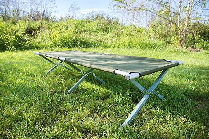 VIVO Portable Camping Cot with Carrying Bag
