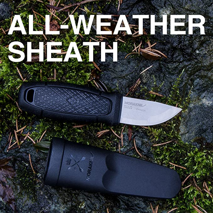 Amazon.com: Cuchillo con hoja de acero inoxidable Morakniv ...