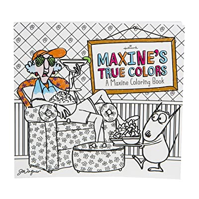 Maxine's True Colors Coloring Book for Adults from the Hallmark Creative Collection – 45 Sheets to Color: Toys & Games