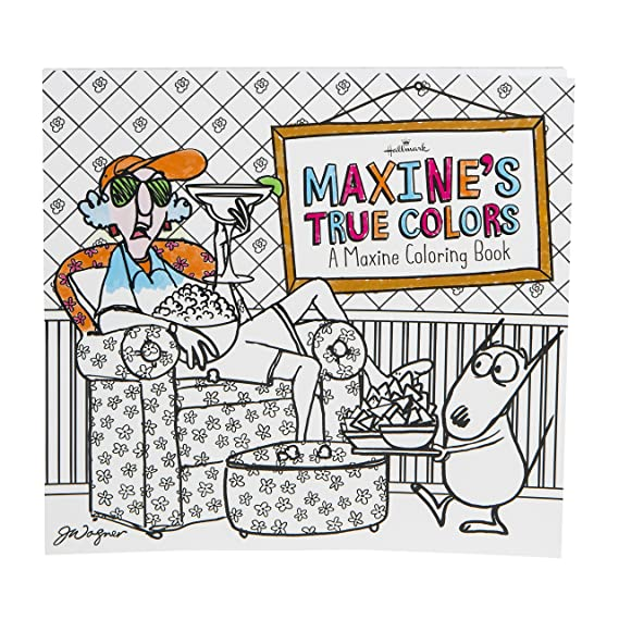 Amazon Maxines True Colors Coloring Book For Adults From The