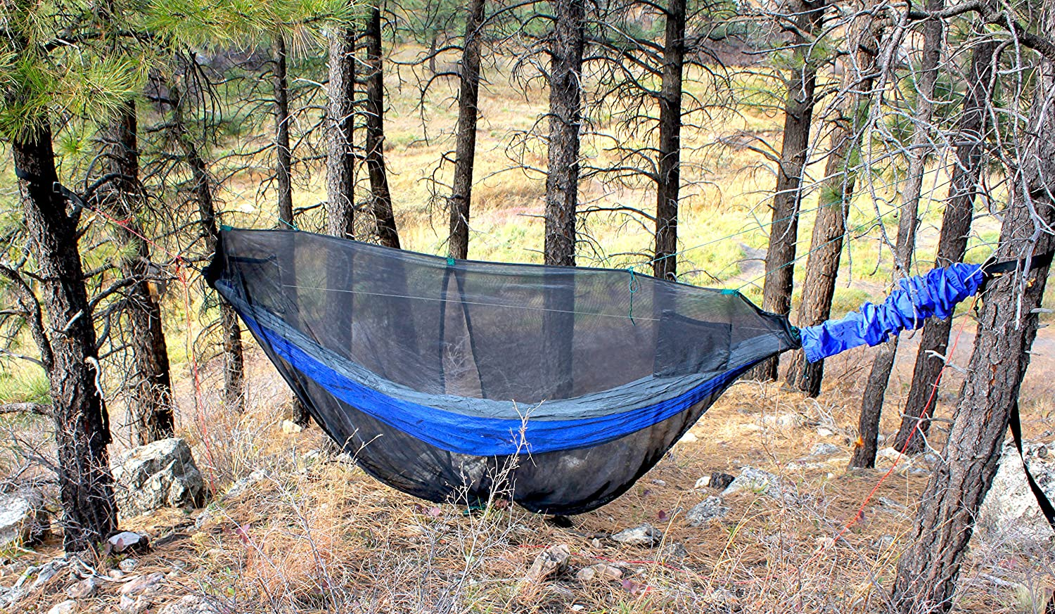 Hammock Bliss Mosquito Net Cocoon Make Hammock Camping A Bug Free Experience The Ultimate Hammock Bug Net With Insect Proof No See Um Mesh
