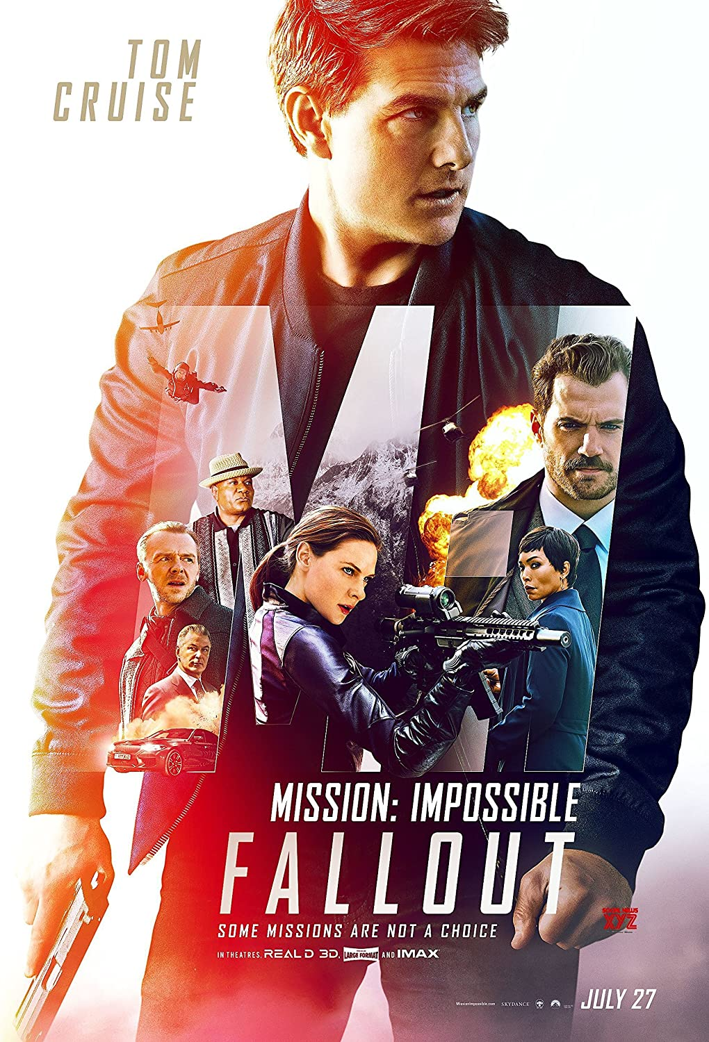 Image result for mission impossible fallout poster""