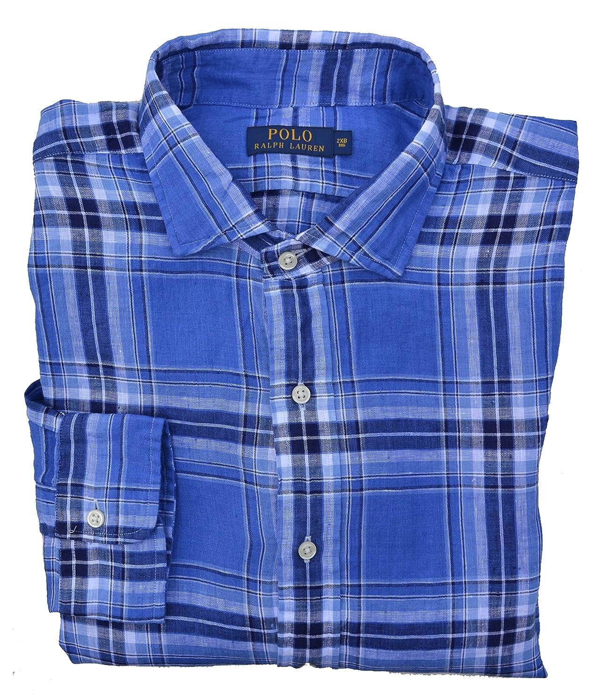 Ralph Lauren Camisa Casual - Cuadrados - Clásico - Para Hombre ...