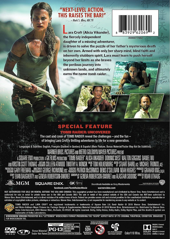 Amazon Com Tomb Raider Dvd Patrick Mccormick Graham King