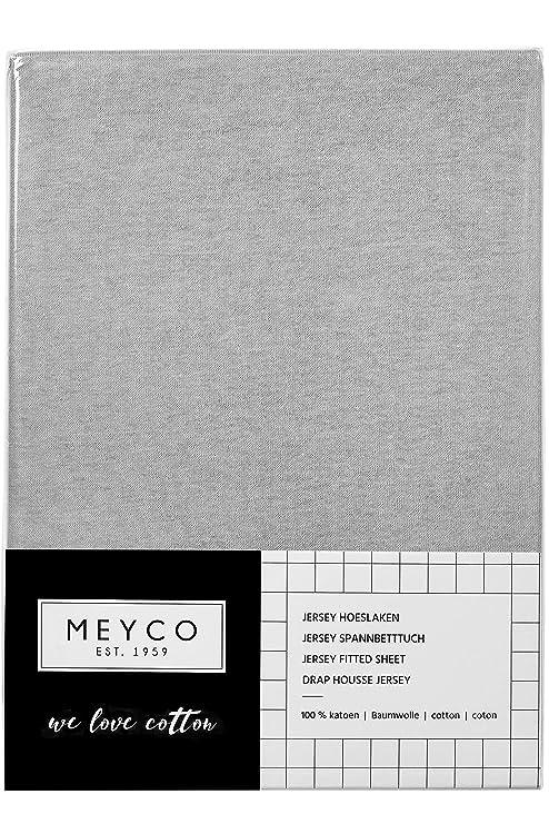Meyco 565005 - Sábana bajera para cama de bebé (100% algodón ...