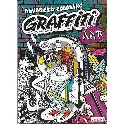 Bendon Graffiti Art Advanced Coloring: Toys & Games