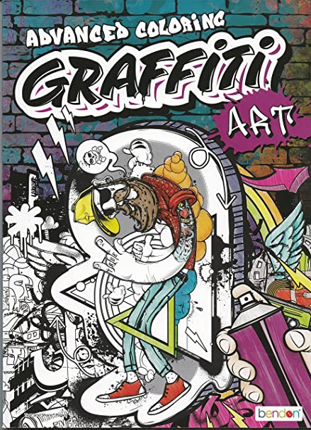 Amazon Com Graffiti Art Advanced Coloring Toys Games