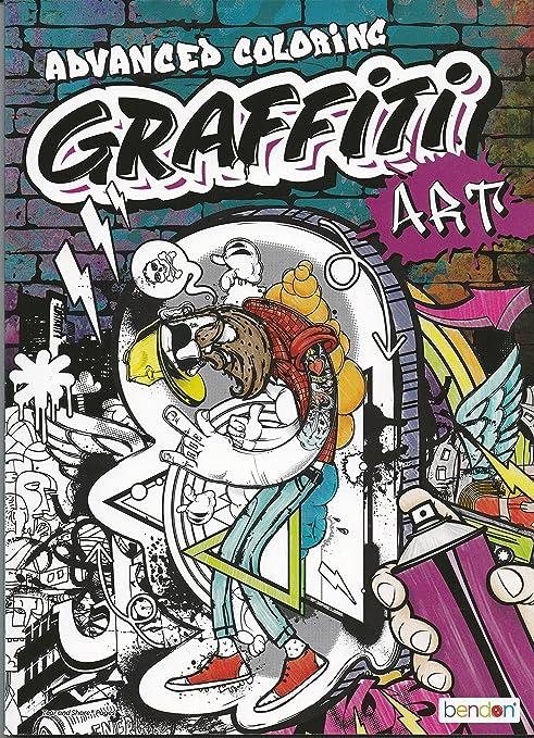 Amazon Graffiti Art Advanced Coloring Toys & Games