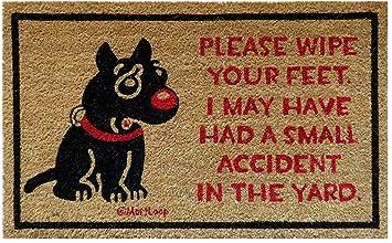 dog welcome mat