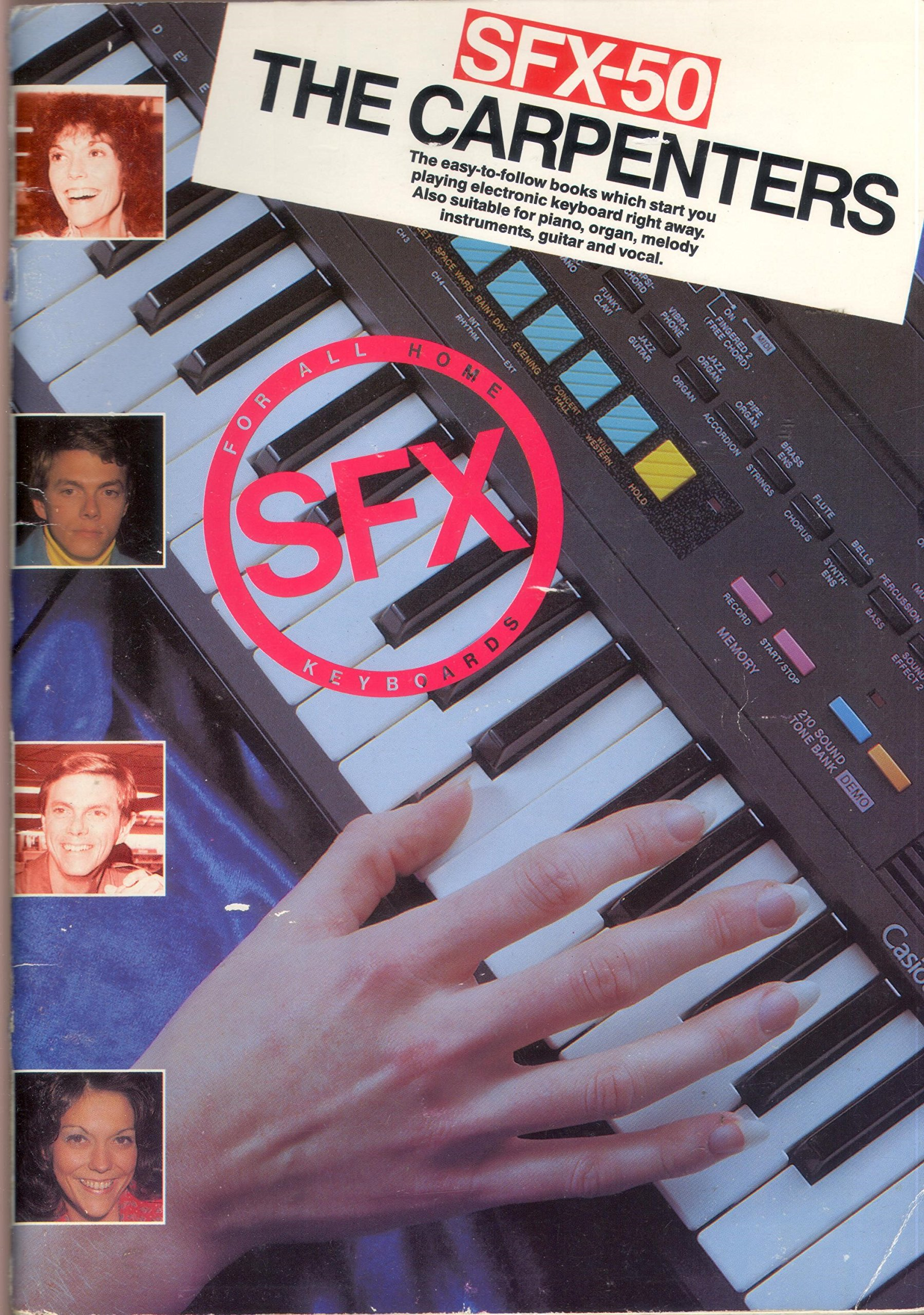 The Carpenters (SFX for all home keyboards): Amazon co uk