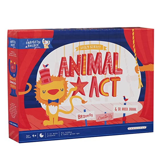 Animal Act   A Silly Street Character Builder Game by Buffalo Games