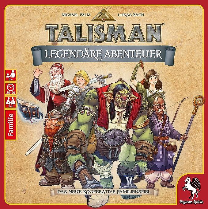 Talisman - Legendäre Abenteuer: Amazon.es: Juguetes y juegos