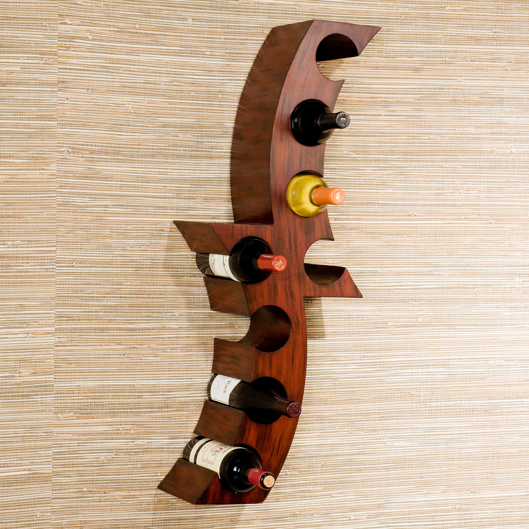 Calabrie Wall Mount Wine Rack