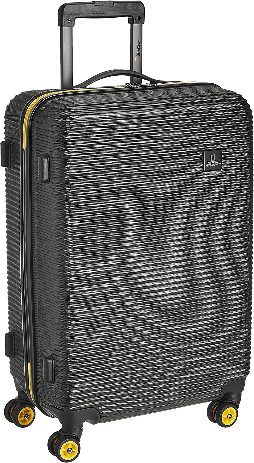 National Geographic Abroad - Maleta (54 cm, 29 L), Color Negro