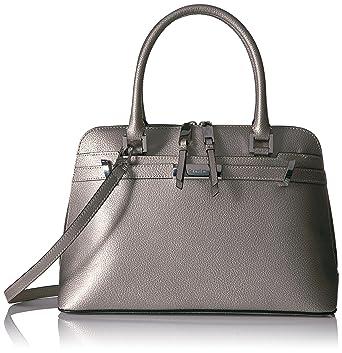Calvin Klein Brooke Tumble Pebble Satchel  Handbags  Amazon.com 0279b61e9e130