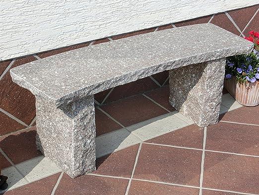 StoneProducts Piedra Natural Piedra Banco de jardín Muebles de jardín Banco Granito Chipre: Amazon.es: Jardín