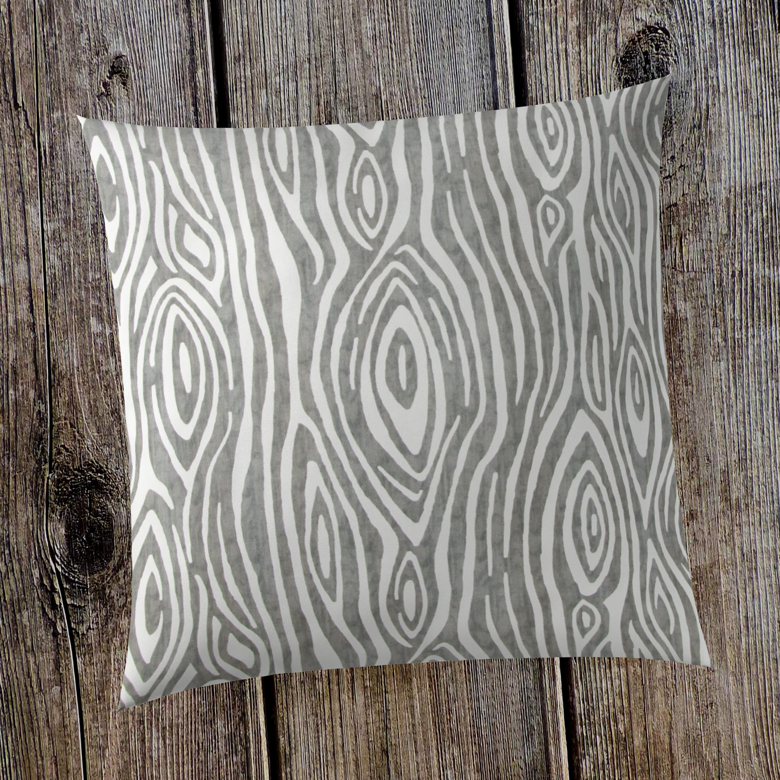 Glenna Jean Tree Trunk 18''x 18'' Pillow with Fill for Baby Nursery, Decorative Soft Cushion Square by Glenna Jean (Image #3)