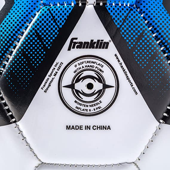 Franklin Sports Futsal Ball - Official Size Futsal Soccer Ball - Indoor and Outdoor Futsal Ball - Size 3 Junior Size Ball and Size 4 Official Size ...