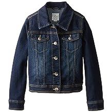 The Children's Place Big Girls' Denim Jacket, Odyssey, Large/10-12