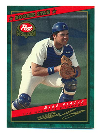 ccb6f546f Lot of 5 Post 1994 Collection Mike Piazza Rookie Star  1 - Los Angeles  Dodgers - Baseball Card at Amazon s Sports Collectibles Store