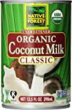 Native Forest Unsweetened Organic Classic Coconut Milk, 13.5 Ounce