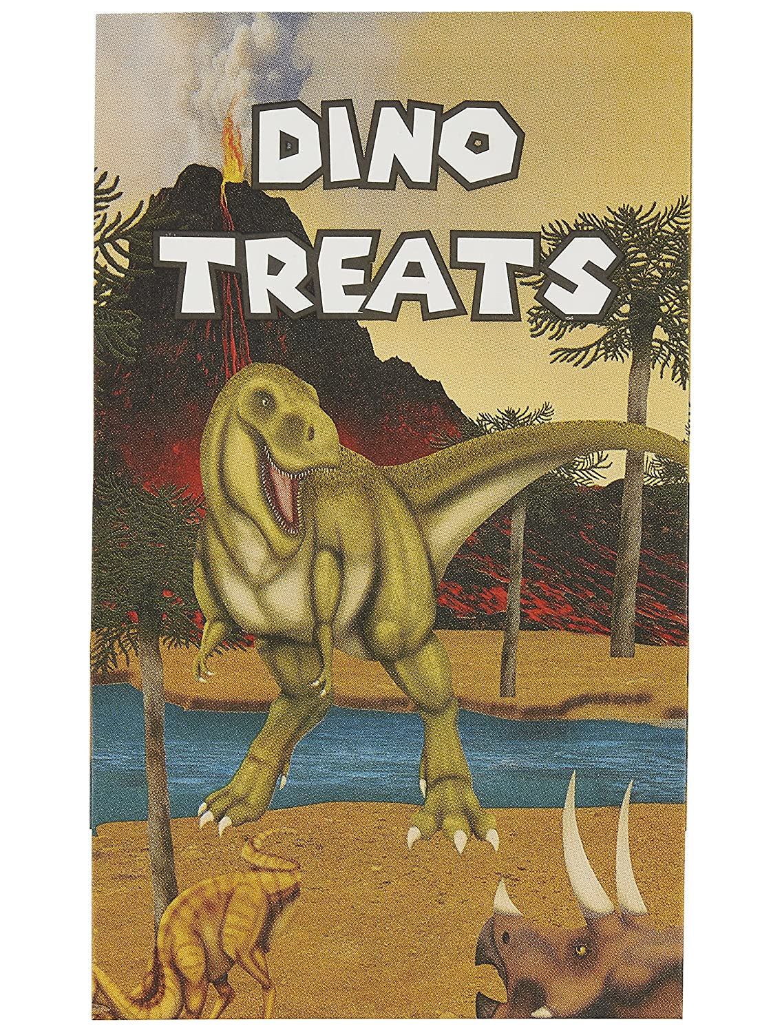 """Small Paper Favor Bags for Boys 36-Pack Party Gift Bags 5.2 x 8.7 x 3.3 Inches Dinosaur Themed Party Supplies /""""Dino Treat/"""" Bags Kids Birthday Party Goodies"""