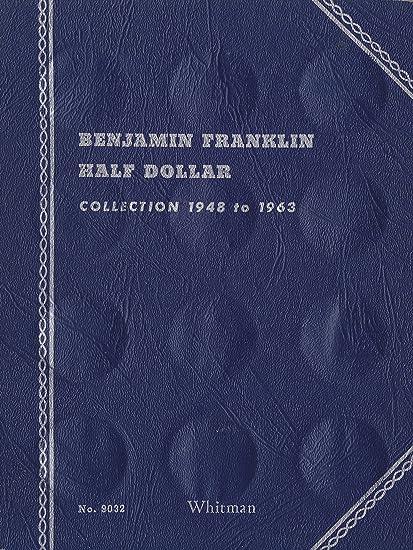 1948 1963 BENJAMIN FRANKLIN HALF DOLLAR ALBUM TRIFOLD