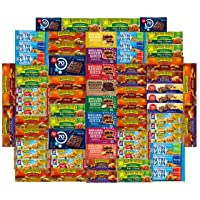 Ultimate Healthy Office Bars (70 Count) , Snacks & Nuts Bulk Variety Pack - Travel...