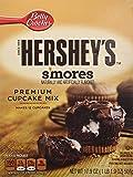 Hershey's S'MORES Premium Cupcake Mix 17.9oz (2 Boxes)