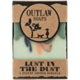 Lust in the Dust Soap - 2 Pack of handmade soap that smells like high noon in the high desert (sagebrush, sandalwood, and campfire) - Men's or Women's Soap