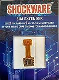 Shockware Hybrid Sim Slot Adapter (Run 2 Sim And Micro Sd Card)