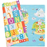 Baby Care Play Mat - Playful Collection (Large, Magical Islands) - Play Mat for Infants – Non-Toxic Baby Rug – Cushioned Baby