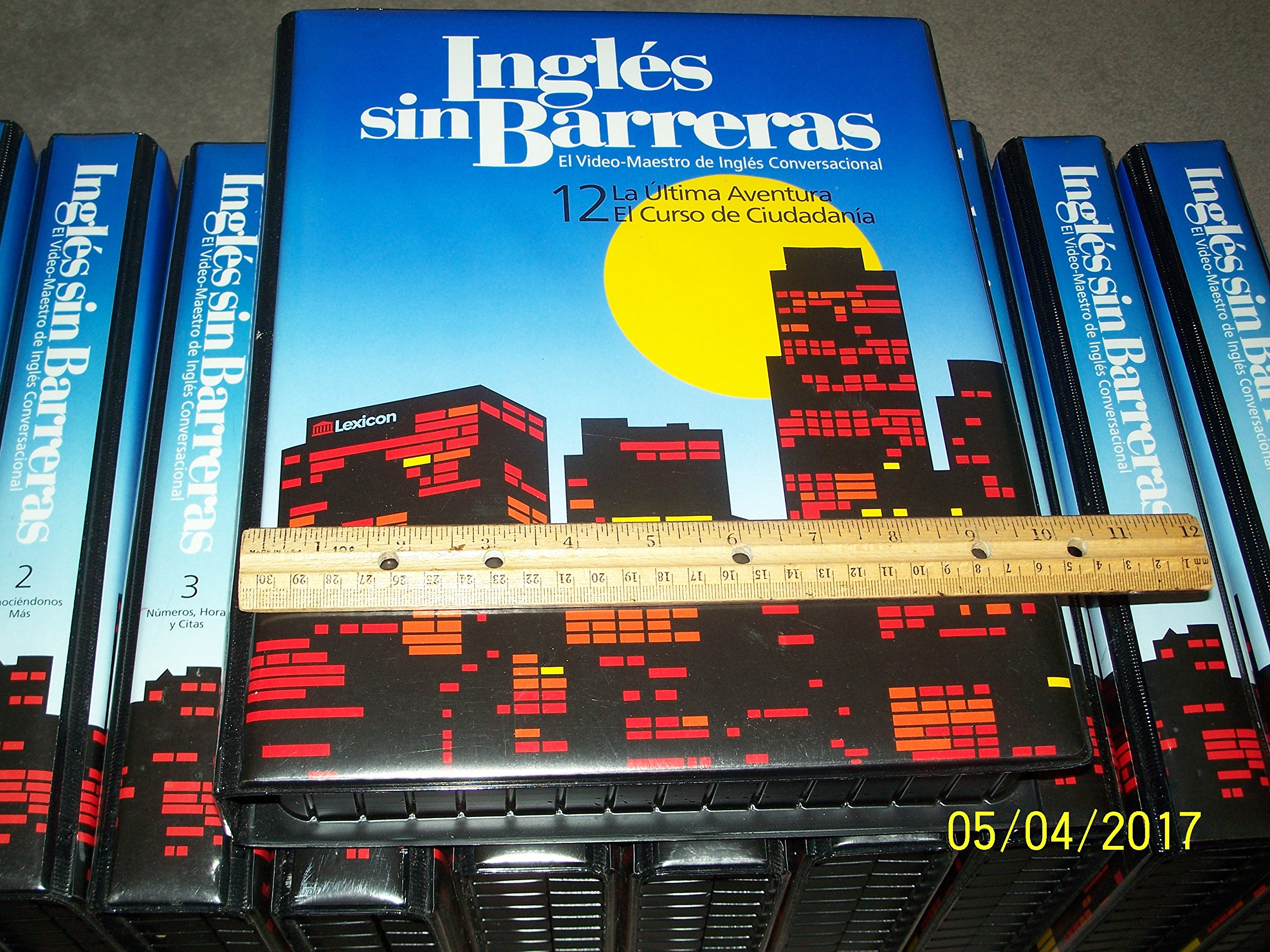 Ingles sin Barreras (1-12): El Video-Maestro de Ingles: Amazon.com: Books