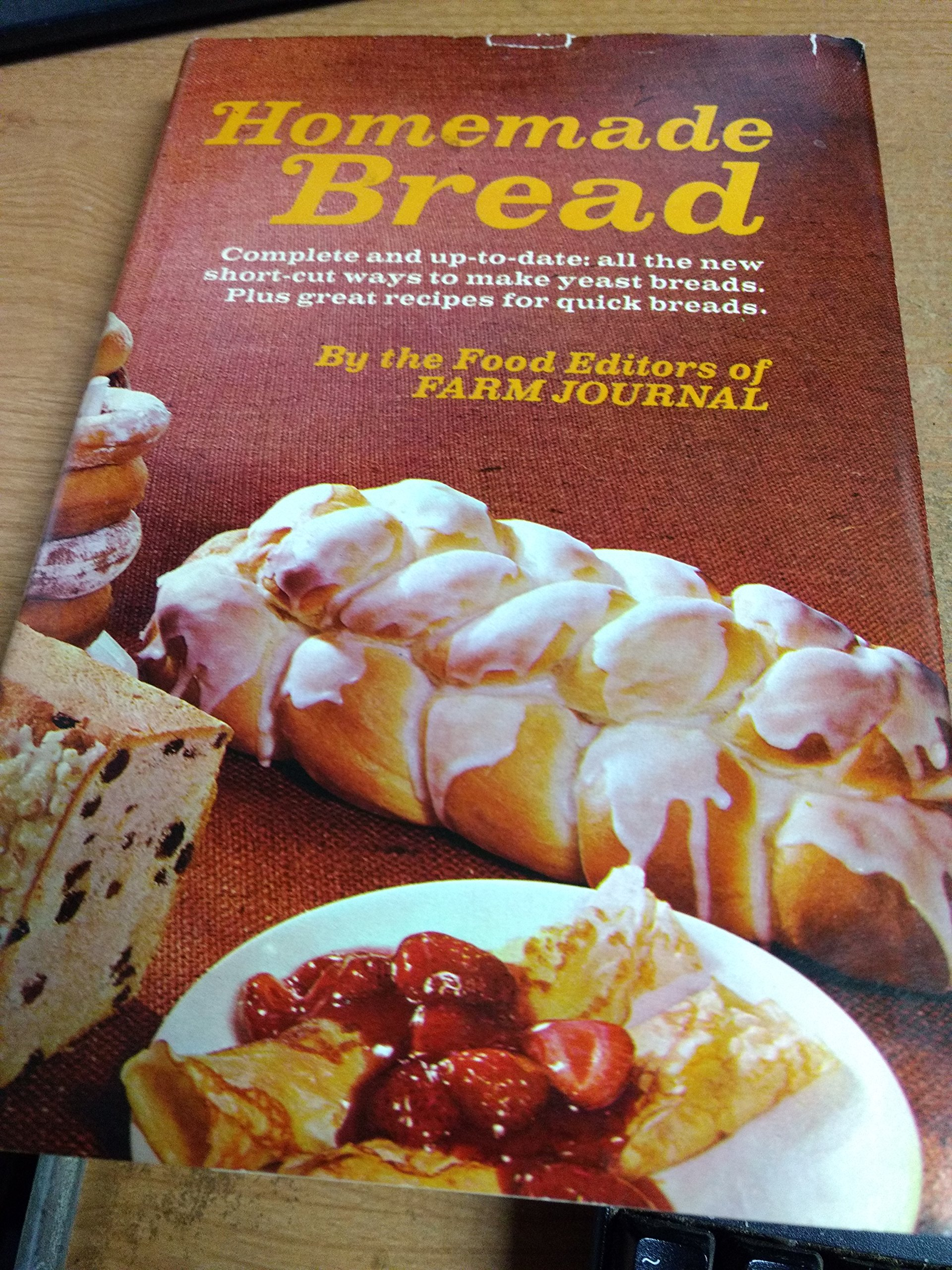 Homemade book about bread