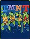 "Teenage Mutant Ninja Turtles Silk Touch Throw - 40"" by 50"" - Cowabunga City Ninja!"