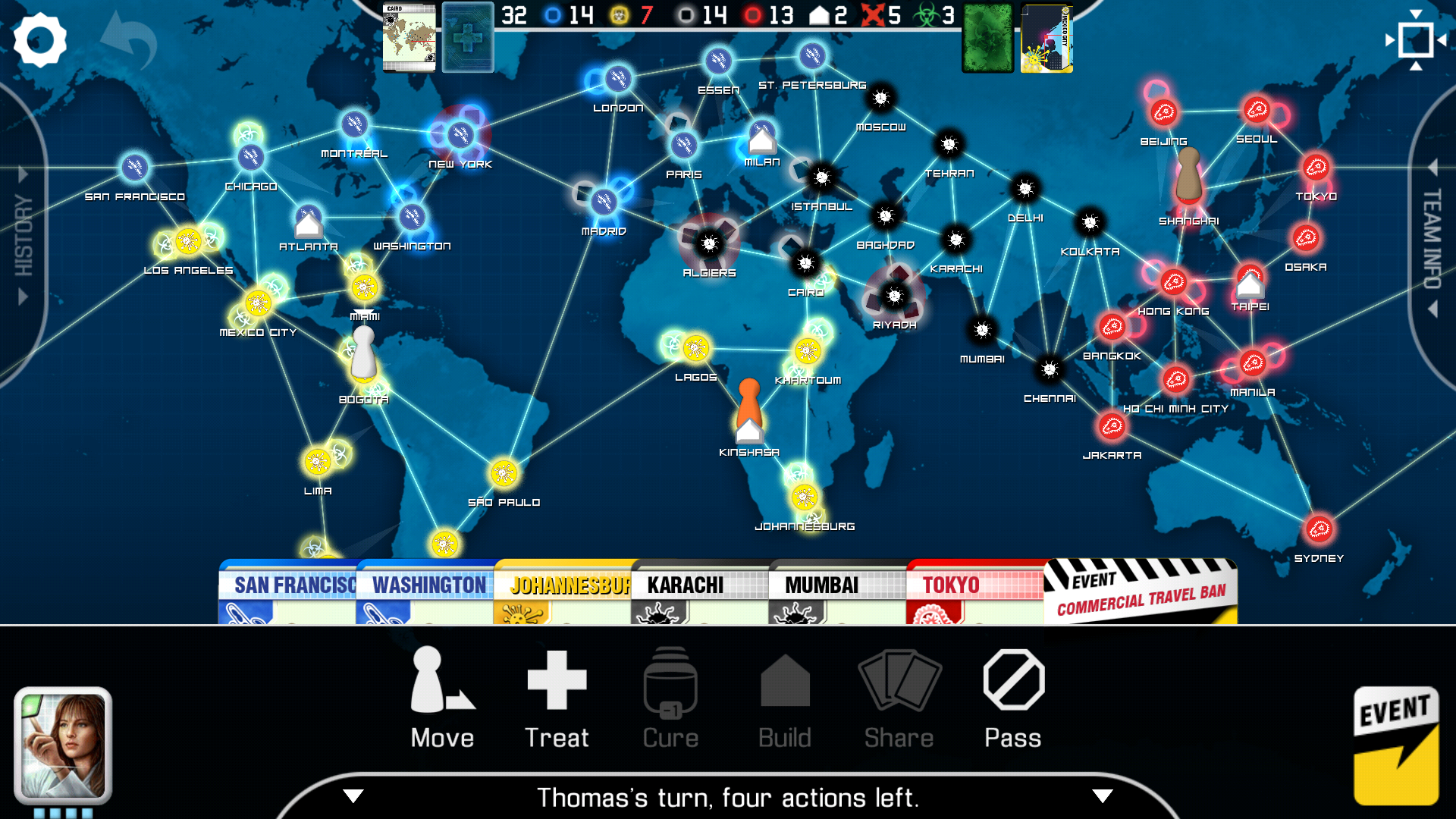 Pandemic: The Board Game: Amazon.es: Appstore para Android