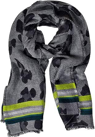 Cecil 571014 Bufanda, Multicolor (Black 30001), Talla Única (talla del fabricante: A) para Mujer