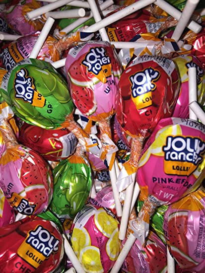 Jolly Rancher Lollipops, Original Flavors (175-Count box) 6 Pounds 8 Ounce (175 Count)