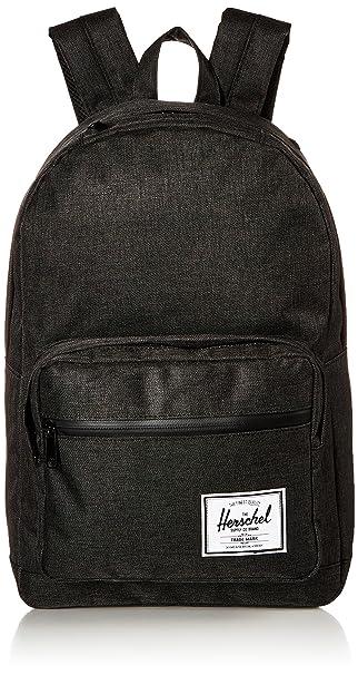 eba3fd956b5 Amazon.com   Herschel Pop Quiz Backpack Crosshatch Black Rubber, One ...
